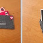 Art Project: Felt Envelopes for 4″x6″ Photos